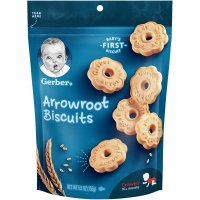 Gerber Arrowroot Biscuits 5.5oz Bag product image