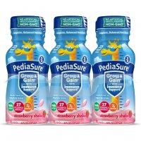 PediaSure Nutrition Beverage Shake Strawberry 6PK of 8oz BTLS product image