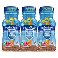 PediaSure Nutrition Beverage Shake Chocolate 6PK of 8oz BTLS product image
