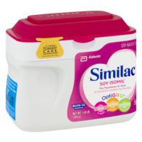Similac Isomil Soy Formula Powder 1.45LB Tub product image