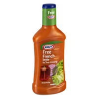 Kraft Free Salad Dressing French Style 16oz BTL product image