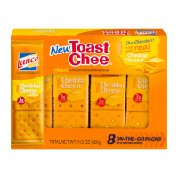 Lance Cheddar Cheese Toast Chee Crackers 8CT 11.3oz PKG product image