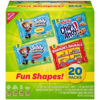 Nabisco Fun Shapes Variety Pack 20CT Box product image
