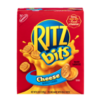 Nabisco Ritz Bitz Sandwich Crackers w Cheese 8.8oz PKG product image