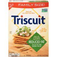 Nabisco Triscuit Wafers Reduced Fat 11.5oz Box product image