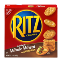 Nabisco Ritz Crackers Whole Wheat 12.9oz Box product image
