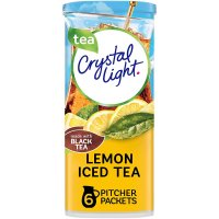 Crystal Light Iced Tea Mix with Natural Lemon Makes 12QTS 1.4oz Can product image
