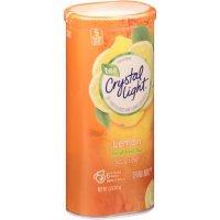 Crystal Light Iced Tea Mix Lemon Decaffeinated Tea Makes 8QTS 1.5oz Can product image