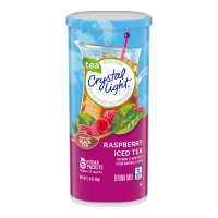Crystal Light Iced Tea Mix Raspberry Makes 12QTS Can product image