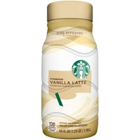 Starbucks Vanilla Latte Chilled Espresso Beverage 40oz BTL product image