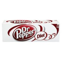 Dr Pepper Diet 12 Pack of 12oz Cans product image