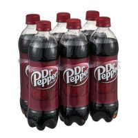 Dr Pepper 6PK of 16.9oz Bottles product image