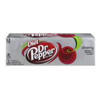 Dr Pepper Diet Cherry 12 Pack of 12oz Cans product image