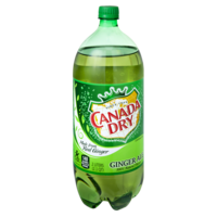 Canada Dry Ginger Ale 2LTR Bottle product image