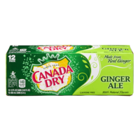Canada Dry Ginger Ale 12PK of 12oz Cans product image