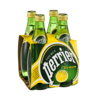 Perrier Sparkling Mineral Water Lemon 4PK of 11.15oz Bottles product image