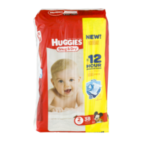 Huggies Snug & Dry Diapers Size 2 (12-18) Jumbo Pack 38CT PKG product image