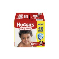 Huggies Snug & Dry Diapers Size 3 (16-28LB) 100CT Box product image