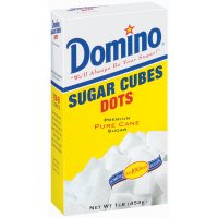 Domino Dots Pure Cane Sugar Cubes 1LB Box product image