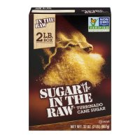 Sugar In The Raw Natural Cane Turbinado Sugar From Hawaii 32oz PKG product image