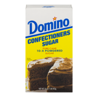 Domino Confectioners 10x Powdered Sugar Pure Cane 1LB Box product image