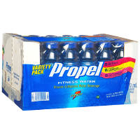 Propel Zero Nutrient Enhanced Water 16.9oz Bottle Variety 24 Pack Case product image