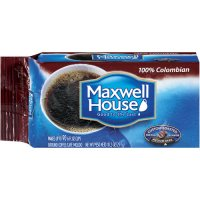 Maxwell House Ground Coffee 100% Colombian Medium Dark 10.5oz Vacuum Block product image