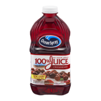 Ocean Spray 100% Juice Cranberry 60oz BTL product image