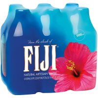 Fiji Artesian Water 6PK of 16.9oz Bottles product image