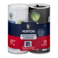 Morton Salt & Pepper Shakers 4oz PKG product image
