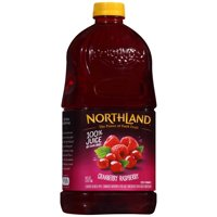 Northland 100% Juice No Sugar Added Cranberry Raspberry 64oz BTL product image