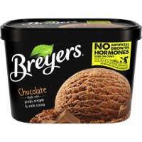 Breyers All Natural Ice Cream Chocolate 1.5QT product image