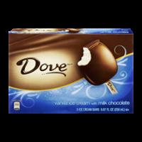 Dove Ice Cream Bars Vanilla Milk Chocolate 3CT 8.67oz PKG product image