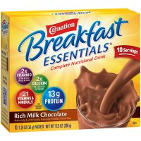 Carnation Instant Breakfast Essentials Rich Milk Chocolate 10CT 12.6oz Box product image