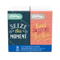 Kleenex Facial Tissue Go Pack 8PK of 10CT EA 80CT PKG product image