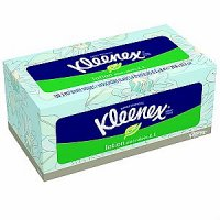 Kleenex Facial Tissue Lotion with Aloe & Vitamin E 120CT Box product image