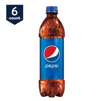 Pepsi Cola 6 Pack of 16.9oz Bottles product image