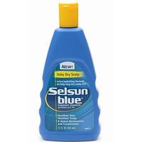 Selsun Blue Dandruff Shampoo For Itchy Dry Hair 11oz BTL product image