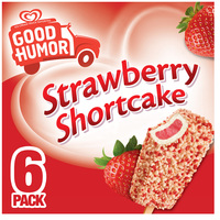 Good Humor Ice Cream Bars Strawberry Shortcake 6CT 3oz EA 18oz Box product image