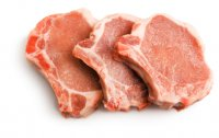 Pork Chops Bone-In Loin 2CT Approx. 8oz EA 1LB PKG product image