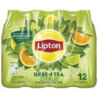 Lipton Green Tea with Citrus 12PK of 16.9oz. BTLS product image