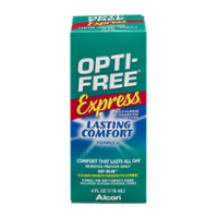 Alcon Opti-Free Express Lasting Comfort No Rub Multi-Purpose Solution 4oz BTL product image