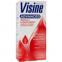 Visine Advanced Relief Eye Drops .5oz BTL product image