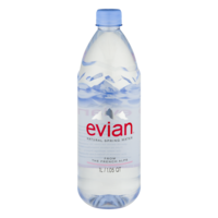 Evian Spring Water 1LTR 33.5oz Bottle product image