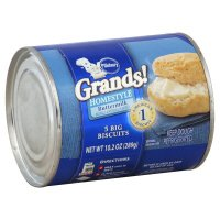 Pillsbury Grands Homestyle Buttermilk Biscuits 5CT 10.2oz PKG product image