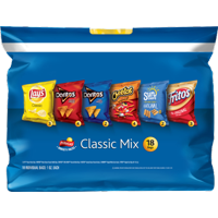 Lay's Family Classic Mix Sack Variety Snack Size 18PK Bags 1oz EA product image
