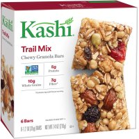 Kashi Chewy Granola Bars Trail Mix 6CT 7.4oz Box product image