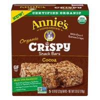 Annie's Organic Cocoa Crispy Snack Bars 3.9oz Box product image