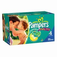 Pampers Baby Dry Size 4 (22-37LB) 92CT PKG product image