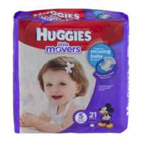 Huggies Little Movers Diapers Size 5 Jumbo Pack 19CT PKG product image